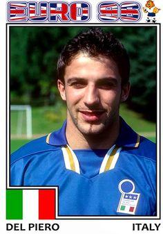 Euro 1996, Soccer, Football, Italy, Baseball Cards, Game, Sports, Hs Sports, Futbol