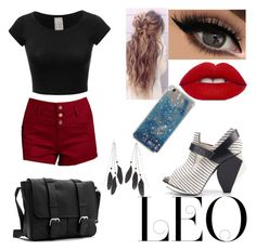"""""""Fierce Leo"""" by victoriamiles on Polyvore featuring Abcense, Refuge, Charlotte Russe, fashionhoroscope and stylehoroscope"""