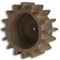 15 in. Belmont Gear Statue -- Industrial ...now mix it with a little refined and voila you got it!!