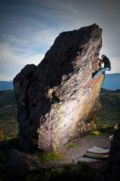 Bouldering in the Buttermilks, Happy Boulders | Climbing