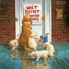 Wet Paint - 1000pc Jigsaw Puzzle by Sunsout