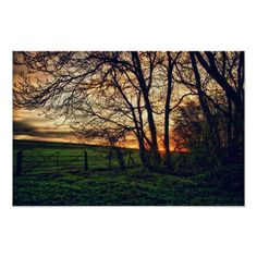 Customizable #Country #Countryside #Dusk #England #English #English#Countryside #Farm #Field #Gate #Hdr #Hdr#Photography #High#Dynamic#Range #Landscape #Nature #Northamptonshire #Photograph #Photography #Rural #Scenic #Sunset #Trees English Countryside Sunset HDR art poster print available WorldWide on http://bit.ly/2iuHVsY