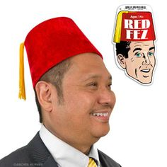 Red Fez by Accoutrements