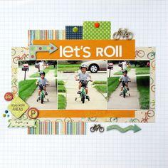 Layout: Let's Roll *Sketch N Scrap*