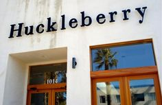 Best Breakfast Sandwich in L.A. can be found at Huckleberry in Santa Monica.
