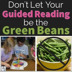 Make Guided Reading a Healthy Part of Your Classroom Menu Reading Lessons, Reading Resources, Reading Strategies, Reading Activities, Teaching Kindergarten, Teaching Reading, Fun Learning, Teaching Ideas, Teaching Phonics