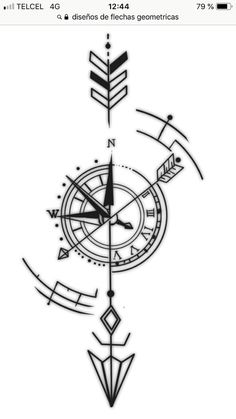 compass tattoo on back for women compass back tattoo for women + compass tattoo back women + compass tattoo on back for women Arrow Tattoos, Forearm Tattoos, Body Art Tattoos, Small Tattoos, Sleeve Tattoos, Tattoos For Guys, Type Tattoo, Tattoo Arm, Tatoos
