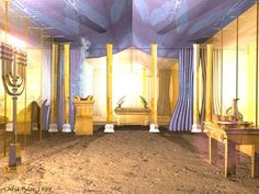 The Ark of the Third Temple Monte Sinai, Tabernacle Of Moses, Feasts Of The Lord, Third Temple, Book Of Exodus, Solomons Temple, Scripture For Today, Messianic Judaism, Bible Illustrations