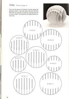Resultado de imagen para sliceform patterns