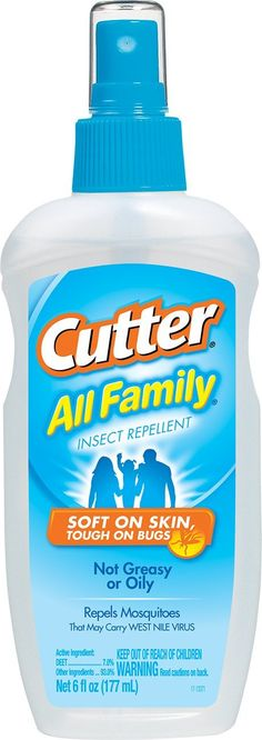 Cutter All Family Insect Repellent (Pump Spray) (HG-51070) *** Check out the image by visiting the link.