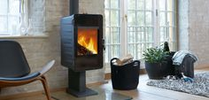 Modern wood stoves and inserts. Available at Sutter Home & Hearth in Seattle. Morso wood,affordable,efficient and made with highest Danish quality Morso Wood Stove, Morso Stoves, Wood Stoves, Stove Paint, Inset Stoves, Foyers, Stove Accessories, Conservatory Design, Sutter Home