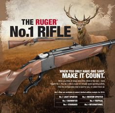 Ruger® No.1 Single-Shot Rifles