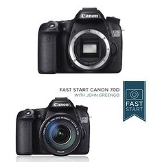 Canon EOS 70D Digital SLR Camera (Body Only) w/ Fast Start Course  Price: $948.00