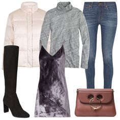 How To Style Skinny Jeans Outfit 3
