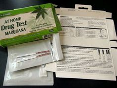 Home And Business Marijuana Emergency Drug Test Kit Includes 12 Individual Cases