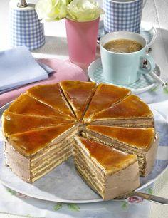 Tempuras of summer vegetables and gambas fritters - Healthy Food Mom Dobos Cake Recipe, Torte Recipe, Gourmet Recipes, Cake Recipes, Dessert Recipes, Super Torte, Bosnian Recipes, Tasty Bakery, Egyptian Food