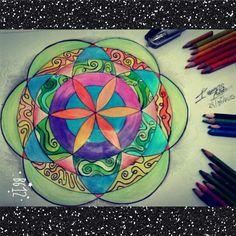 Coloreado por mi y realizado por mi pequeño hermano♥