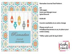 Ramadan, Spiral, Stationery, Canvas Prints, Frame, Pattern, Picture Frame, Paper Mill, Photo Canvas Prints