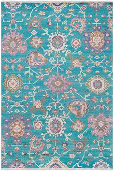6x9 2629 00 Pile Height 1 8 Surya Gorgeous New Age Rugs
