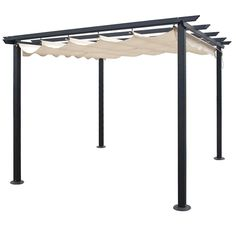 There are lots of pergola designs for you to choose from. You can choose the design based on various factors. First of all you have to decide where you are going to have your pergola and how much shade you want. Pergola Cost, Small Pergola, Pergola Attached To House, Metal Pergola, Pergola With Roof, Cheap Pergola, Wooden Pergola, Outdoor Pergola, Covered Pergola