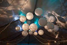 lights iluminadas de afuera