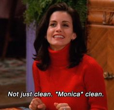 The one where Monica developed OCD as an adult