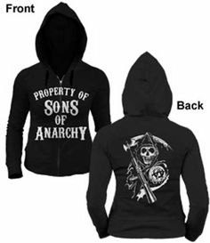 Sons Of Anarchy Property Of Soa Women's Hoodie