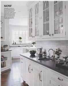 As seen in BHG Kitchen & Bath Ideas/Spring Herbeau Pompadour faucet