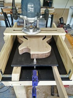 Neck pocket routing jig