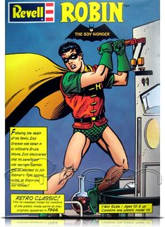 Robin (The Boy Wonder): Retro Classic Modellbausatz im Maßtab 1/8, von Revell-Monogram.