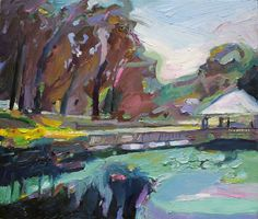 Richard Claremont #Art and #Inspiration - Garden in Wollongong - #Oil #Paintings for Sale