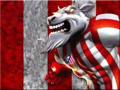 Recopilación de dibujos y personajes relacionados con el Atlético de Madrid. ... Chivas Soccer, Football Mexicano, Mexican Style, Gorilla Gorilla, America, Tumblers, Ali, Fictional Characters, Memes