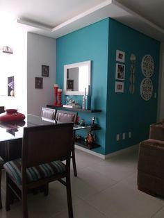 Paredes super aproveitadas com cor e decoração.. BLog Tô Decorando por Jana Cassis!