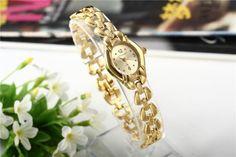 Hot Sale Fashion Gold Bracelet Watch Women Watches Women's Watches Luxury Wrist watch Clock saat relogio feminino reloj mujer