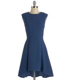 TW_5046 Short Navy Blue Formal Dress