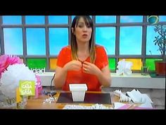 Videos, Youtube, Make It Yourself, Crafts, Home, Paper Pom Poms, Creative Decor, Plant Pots, Paper Envelopes