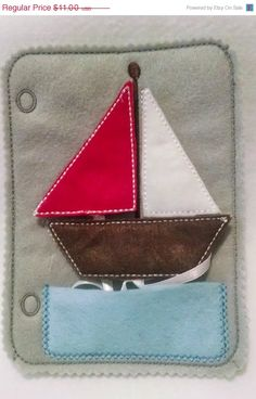 This listing is for 1 practice your shapes sale boat quiet book page and can be added to other pages to create the perfect quiet book. Great