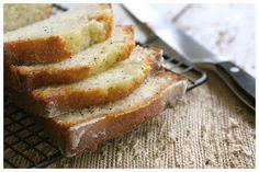 Poppy Seed Bread with Orange Glaze.....THE BEST!  (Orange Glaze goes very well on Cranberry Orange Bread, too!)