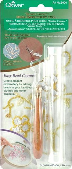 Kantan Couture Bead Embroidery Tool- von cutratecrafts