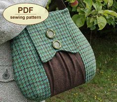 Love this purse design. Pattern available. More