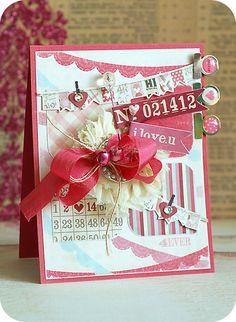 love this valentine card