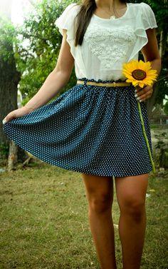 #combinandolunes #lookoftheday #summerlooks #sunflower