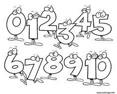 18 Meilleures Images Du Tableau Coloriage Chiffre Color By Numbers