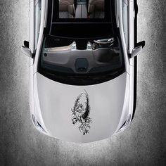 PEGASUS HORSE WITH WINGS ART MURALS DESIGN HOOD CAR VINYL STICKER DECALS SV2690