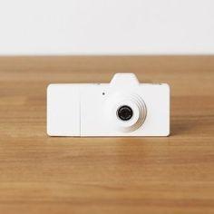 Superheadz CLAP Digital Camera Powershovel White