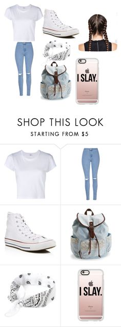 """""""inspired by my friend"""" by devin-scarver ❤ liked on Polyvore featuring RE/DONE, Glamorous, Converse, Aéropostale, Ultimate and Casetify"""
