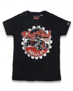 SPEED TRIALS, Hotrod Hellcat Kids, Kid tees at Switchblade Clothing