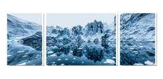 Photo sur toile grand format Glacier Antarctique