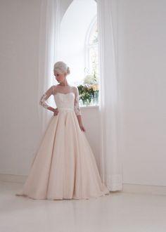 Dresses - Hand Made Dresses at The House of Mooshki Apricot Wedding 663bdb6cfebc