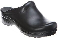 "Sanita Women's Sonja Clog Sanita. $53.99. Generously Padded Instep. Leather sockliner. Platform measures approximately 0.75"" . Great Arch Support. Rocker Bottom. Manmade sole. leather. Heel measures approximately 2.25"""